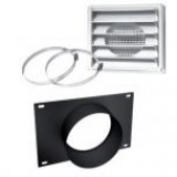 "5""Ø FRESH AIR INTAKE KIT FOR WOOD STOVE ON PEDESTAL"