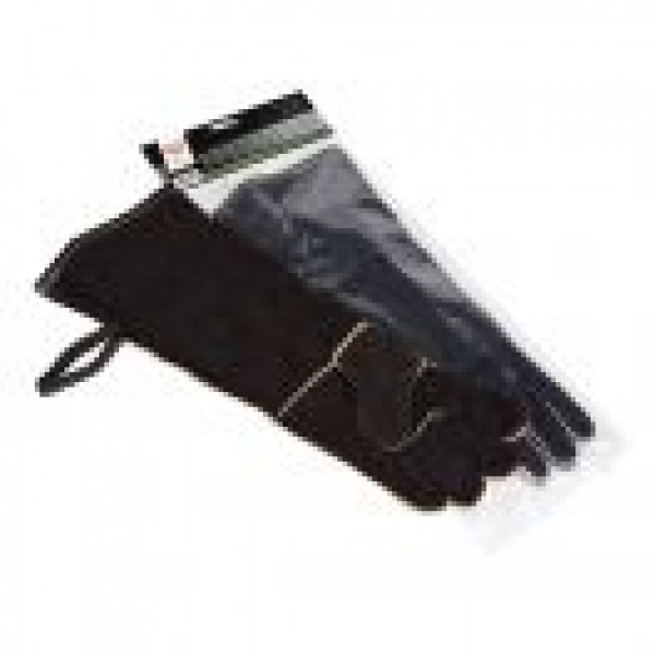 """19"""" KEVLAR THREAD WOOD STOVE AND FIREPLACE GLOVES"""