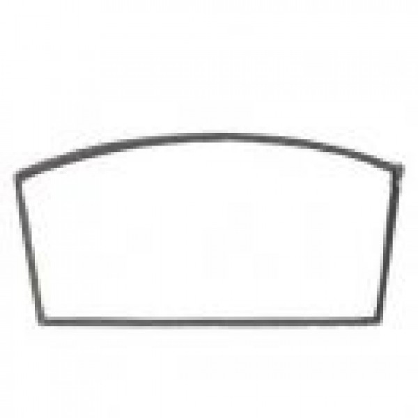 9 1/16'' X 9 9/16'' X 17 5/16'' ARCHED REPLACEMENT GLASS WITH GASKET