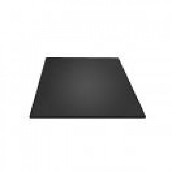 """TINTED TEMPERED GLASS HEARTH PAD 10 mm - 44"""" X 36"""""""