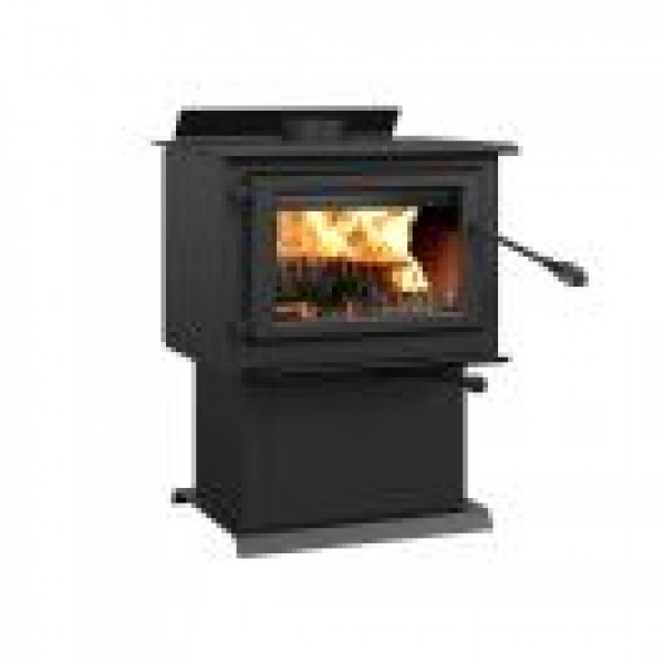 CENTURY - FW2800 WOOD STOVE ON PEDESTAL