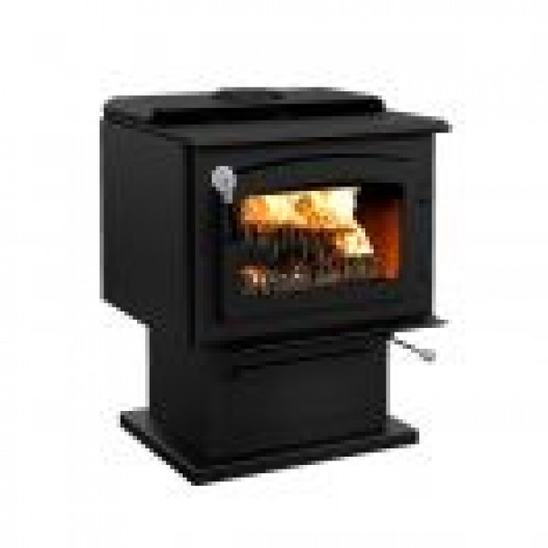 DROLET - ESCAPE 1800 WOOD STOVE WITH BLACK DOOR