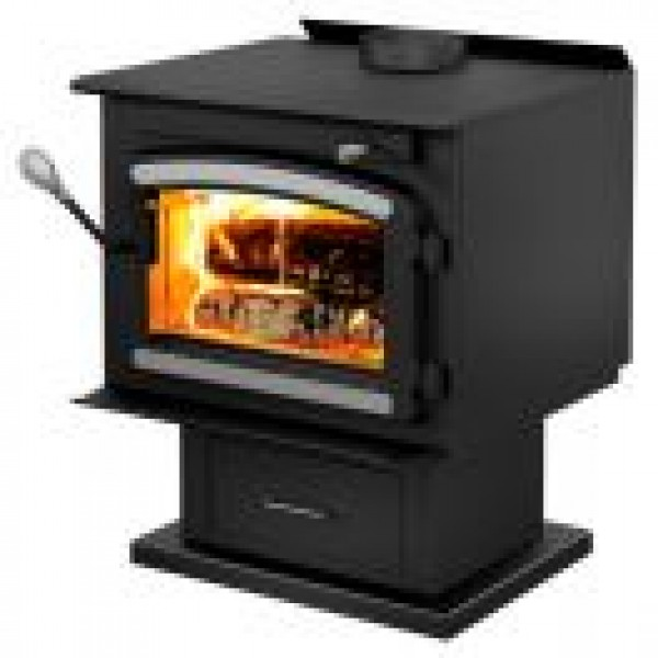 DROLET - CLASSIC WOOD STOVE WITH BLOWER