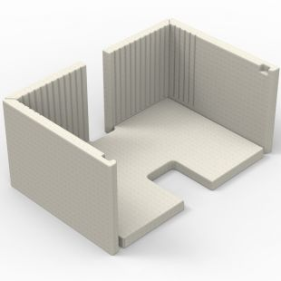 MOULDED REFRACTORY PANEL KIT
