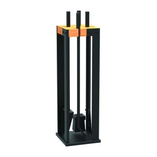 DUPLEX FIREPLACE TOOL SET