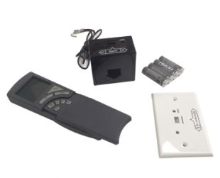 REMOTE CONTROL PROGRAMMABLE THERMOSTATIC