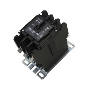 AUXILIARY CONTACTOR, E.U. 25 AND 30 kW