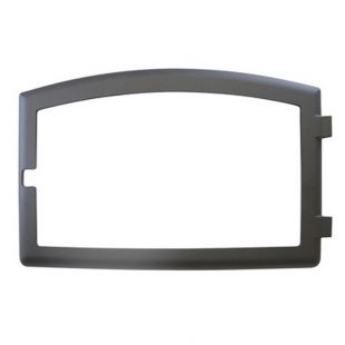 BLACK CAST IRON DOOR OVERLAY