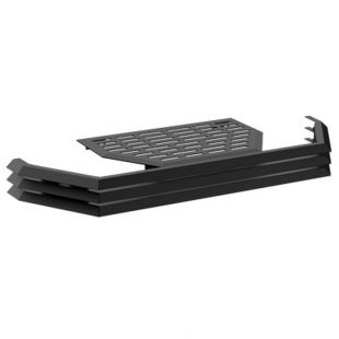 BLACK LOUVER AND TRIVET