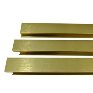 "BRASS REGULAR FACEPLATE TRIM KIT (29"" X 44"")"