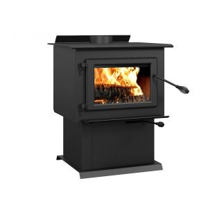 CENTURY - FW2900 WOOD STOVE ON PEDESTAL