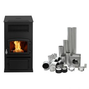 DROLET - ECO-65 WITH BASEMENT VENT KIT