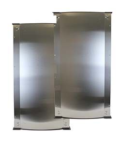 STAINLESS STEEL SIDE PANEL KIT