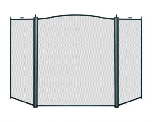 3 PANEL FIRESCREEN PROTECTOR 132cm WIDE