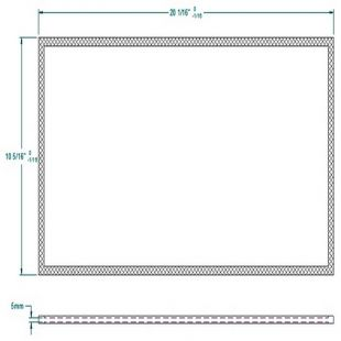 OSBURN 2400 REPLACEMENT GLASS (HM10)