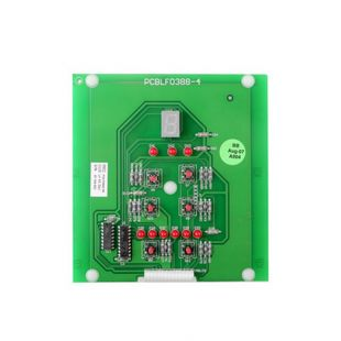 PC BOARD FOR PELLET STOVE 230 VOLTS 45 SERIES