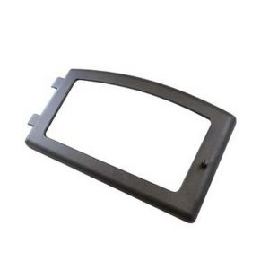 PELLET DOOR FRAME WITH HANDLE AND GASKET WITHOUT GLASS