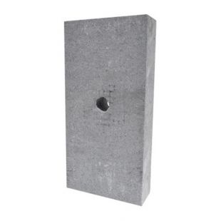REFRACTORY BRICK WITH HOLE