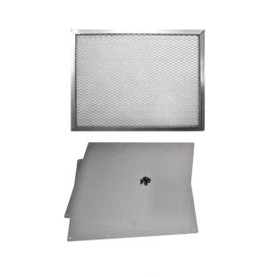 "20"" X 15"" X 1"" WASHABLE ALUMINUM AIR FILTER  WITH SUPPORT"